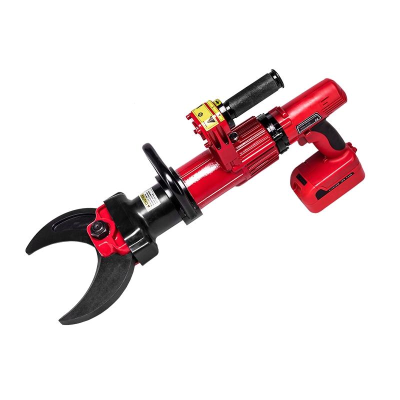 红色电动液压剪切器BC115 消防电动剪切器 电动液压剪切器 电动手持剪切钳 救援破拆工具