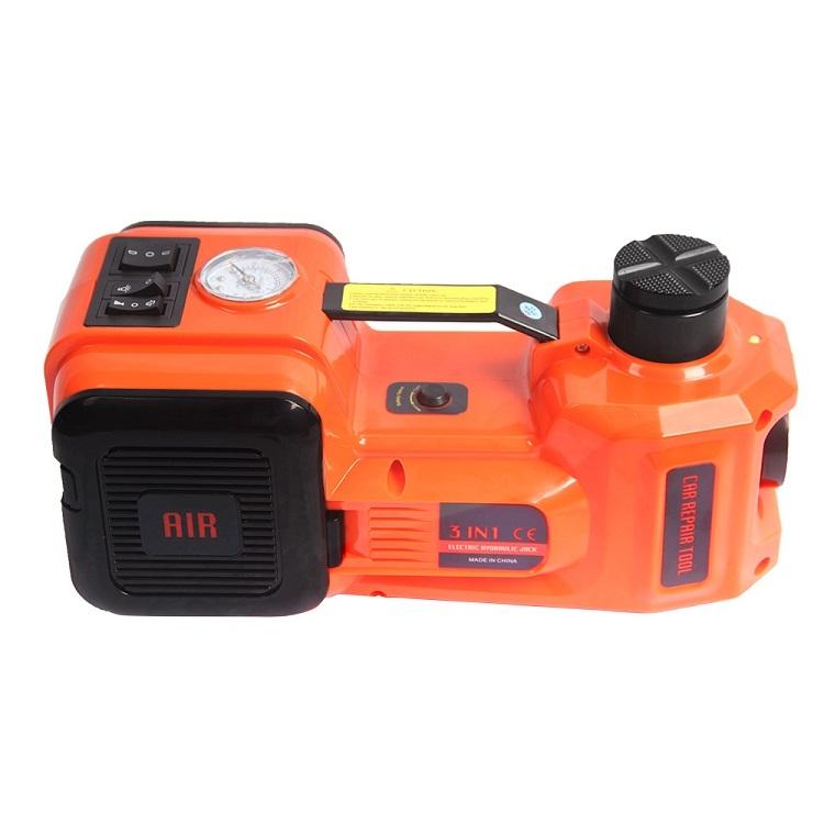 电动千斤顶5T12v 小汽车用电动液压千斤顶 充气泵 轿车越野车液压多功能换胎神器